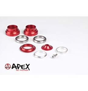 Apex Scooters Sealed Threadless Headset - Red